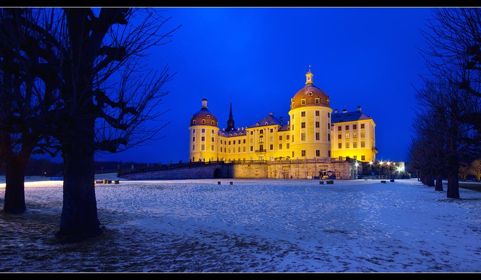 Schloss Moritzburg@night 1