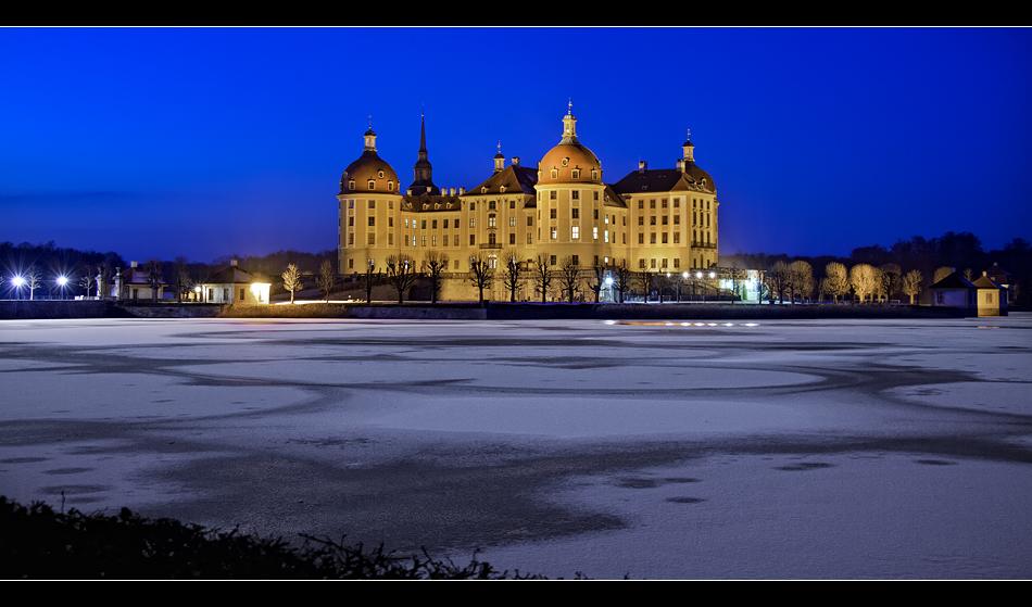 Schloss Moritzburg@night 2