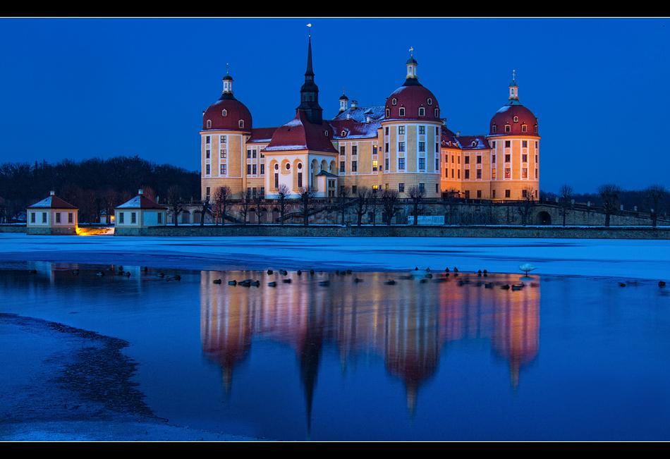 Schloss Moritzburg@night