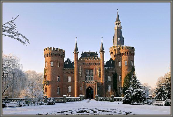 Schloss Moyland eisgekühlt