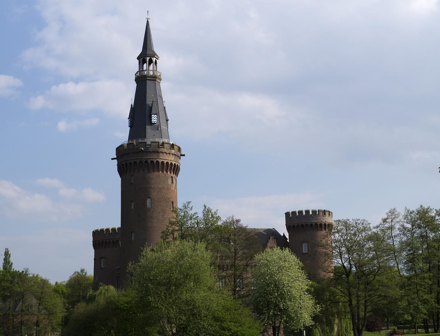 Schloss Moyland - Seitenansicht