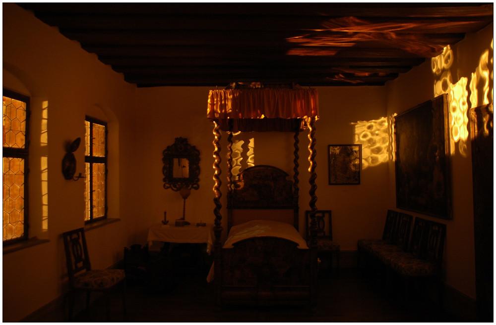 schloss neunhof schlafzimmer foto bild architektur architektur bei nacht neunhof bilder. Black Bedroom Furniture Sets. Home Design Ideas