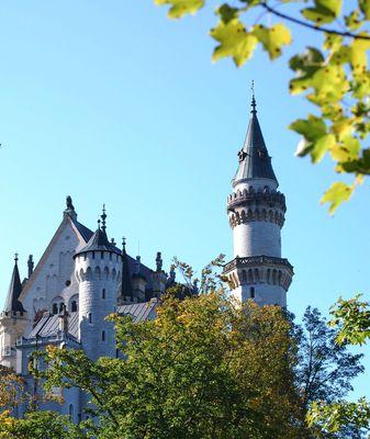 Schloss Neuschwanstein abgeändert