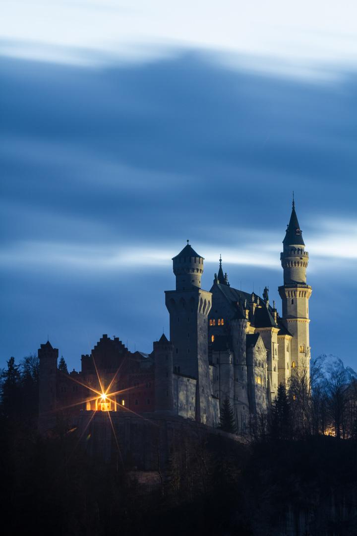 Schloss Neuschwanstein (hochformat) - Geisterstimmung ;)