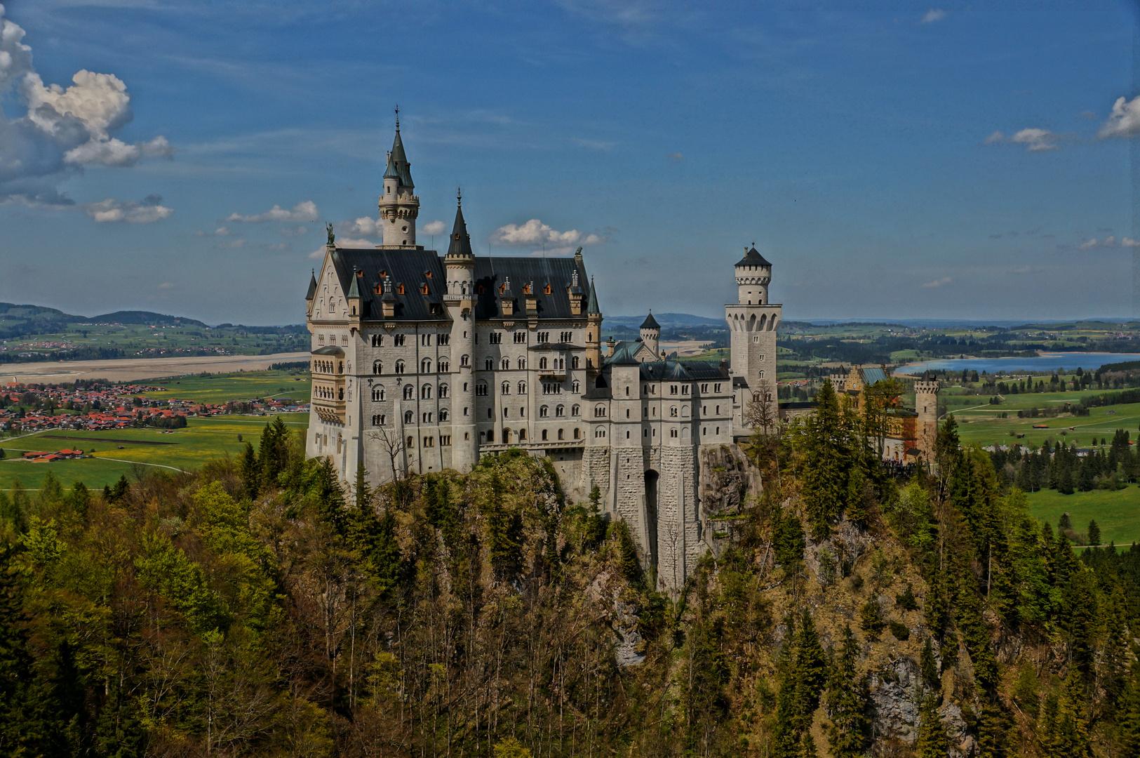 Schloss Neuschwanstein mal aus einer ganz anderen Perspektive ;-)