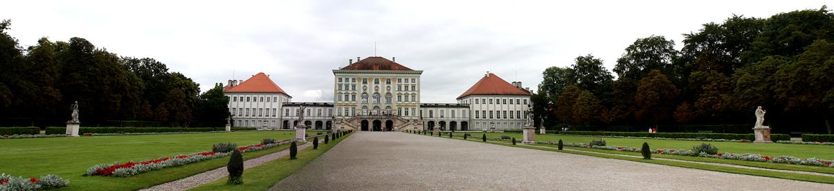 Schloss Nymphenburg Panorama