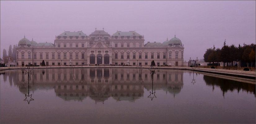 Schloss Obere Belvedere in Wien...