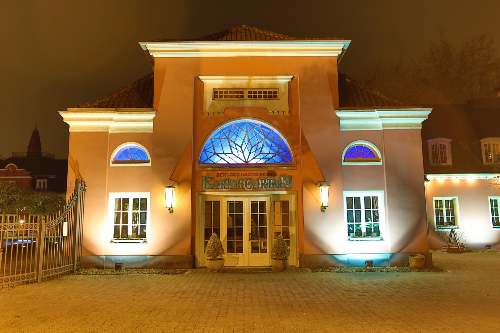 Schloss Oberhausen - Gastronomie im Kaisergarten