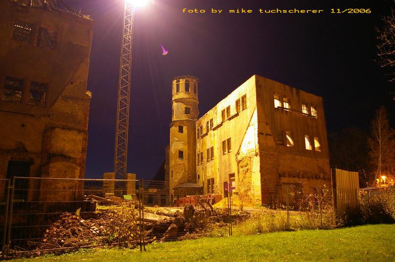 Schloss Osterstein-Zwickau (Nachtfoto)