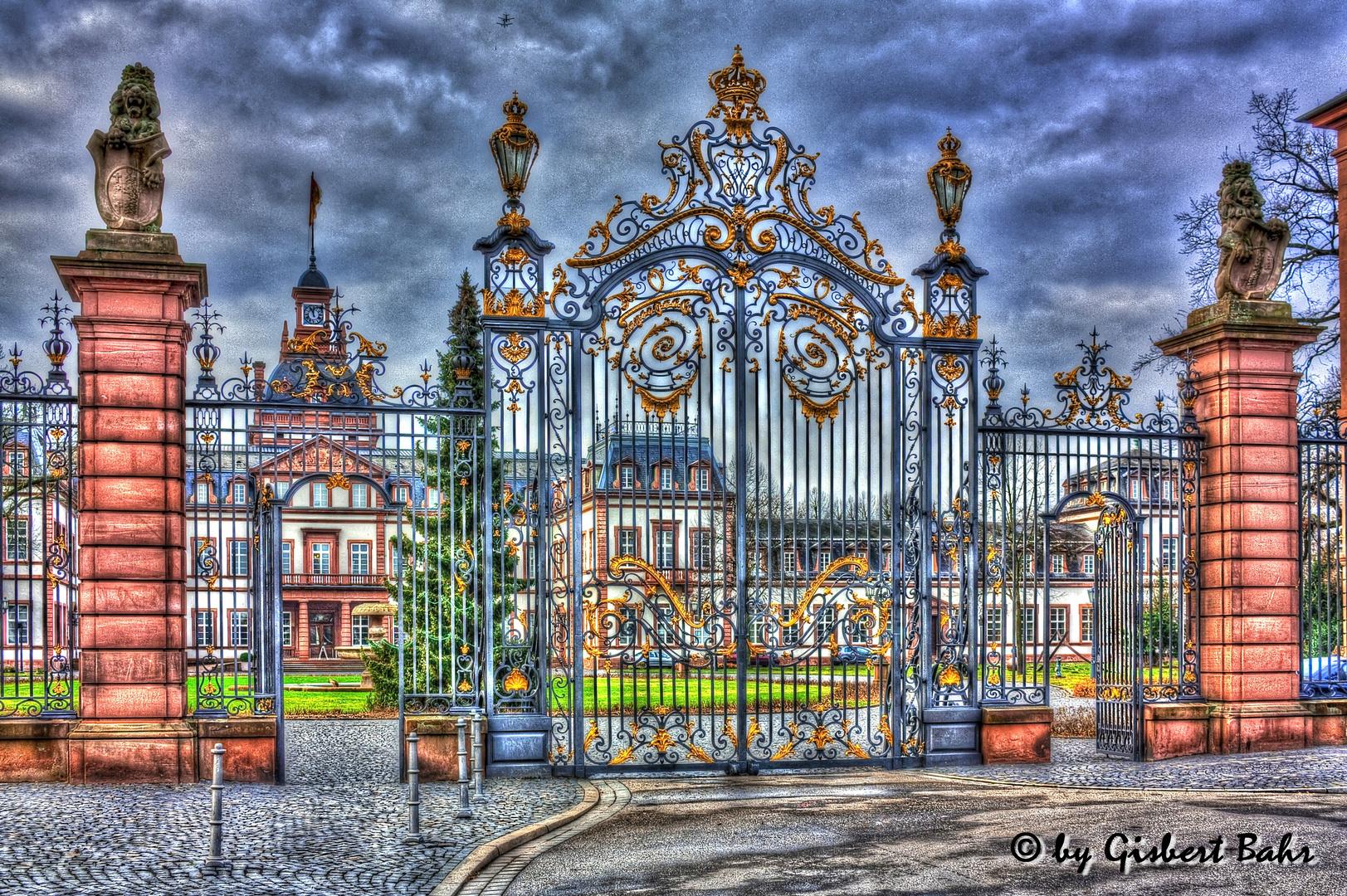 Schloss Philippsruhe ...