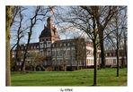 Schloss Phillipsruhe, Hanau - Ansicht aus dem Schlossgarten