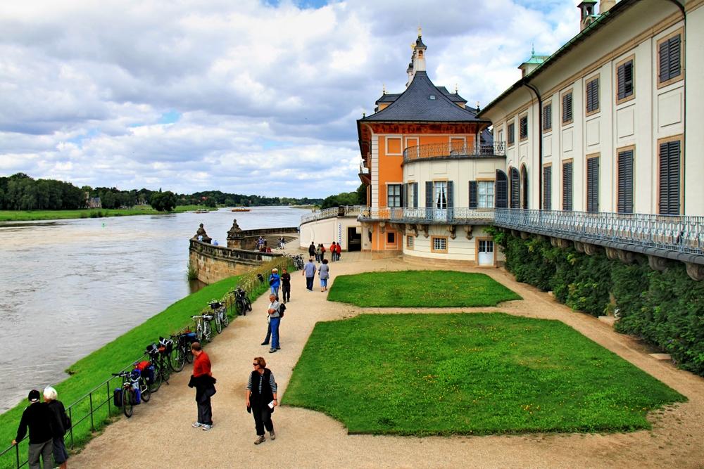 Schloss Pillnitz - Bootsanlegestelle (2)