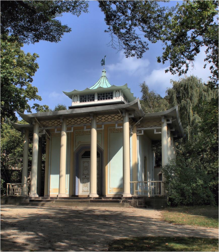 Schloss Pillnitz --------- Chinesischer Pavillon--------HDR