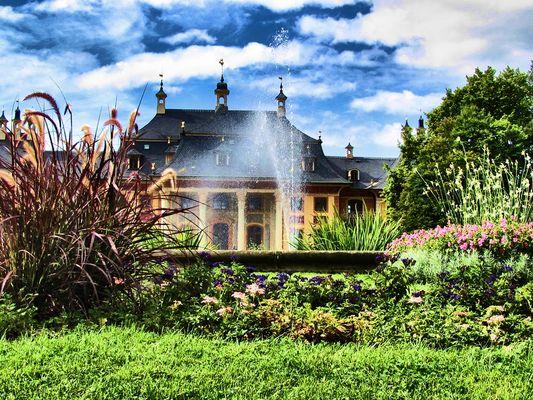 Schloss Pillnitz,HDR