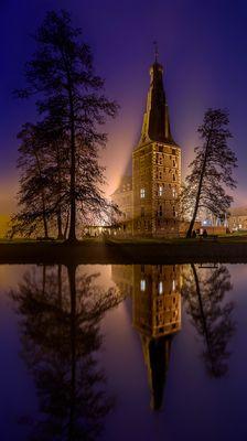 Schloss Raesfeld am Abend
