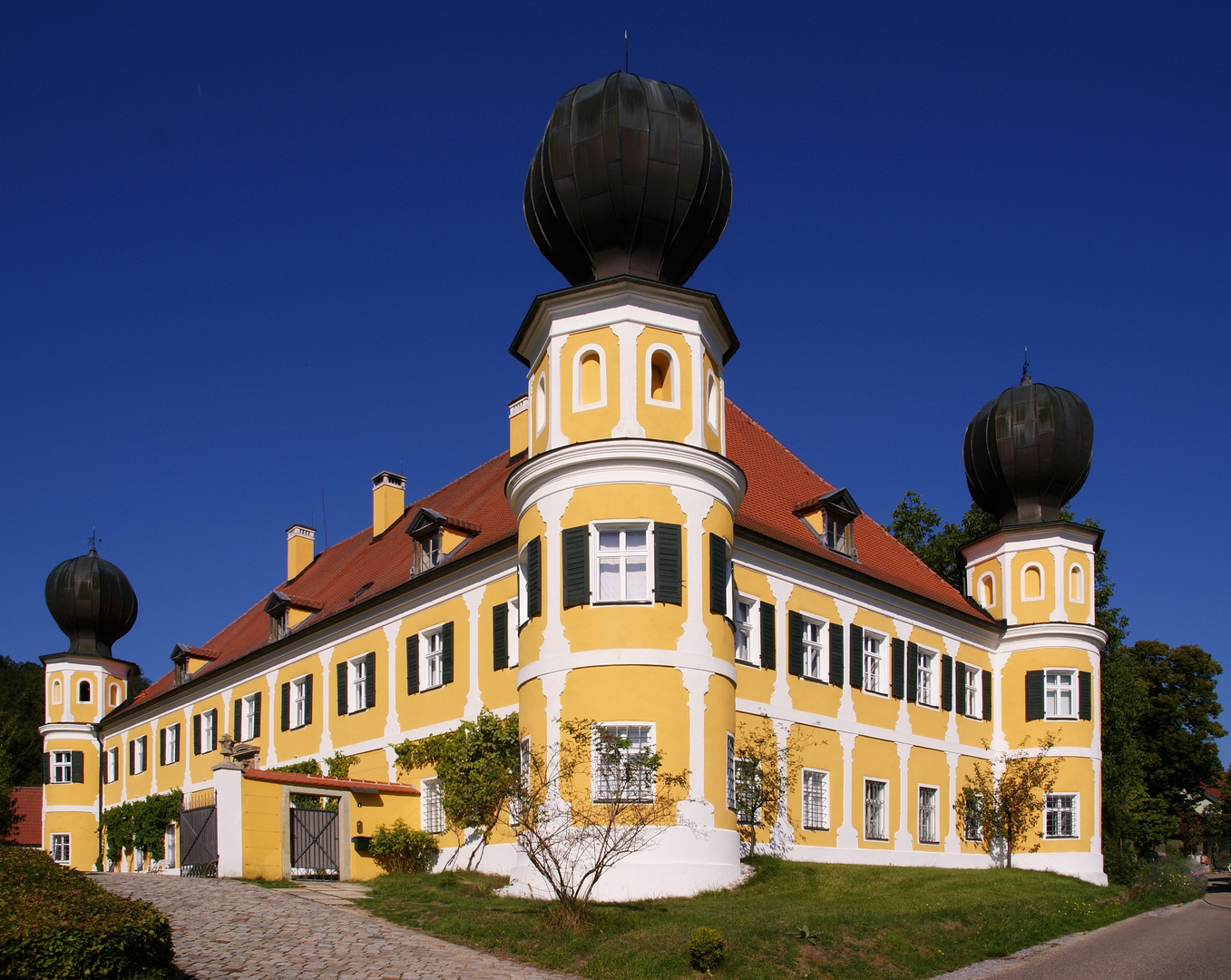 Schloss Ramspau bei Regenstauf