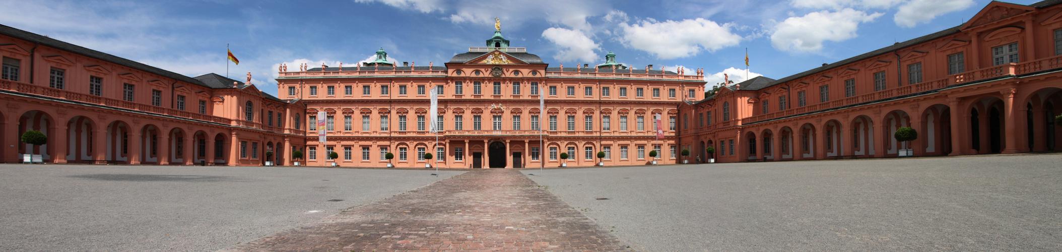Schloss Rastatt panorama