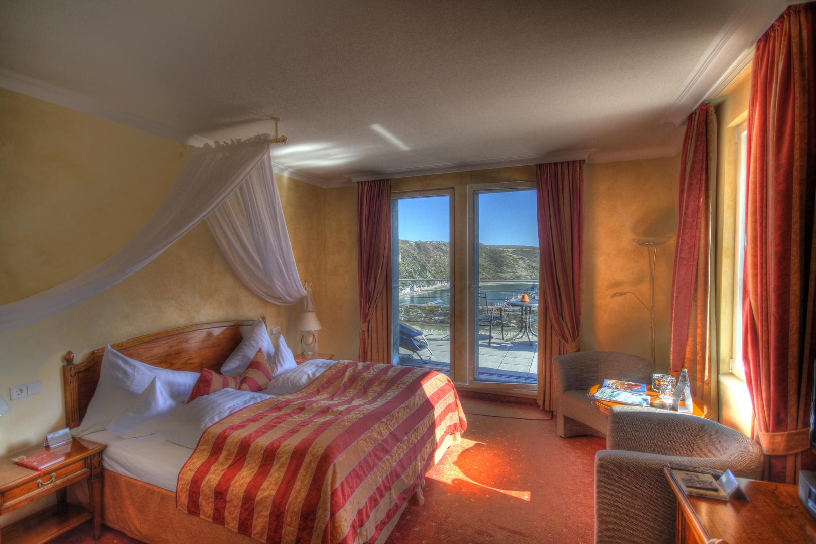 Schloss Rheinfels - Hotel Room