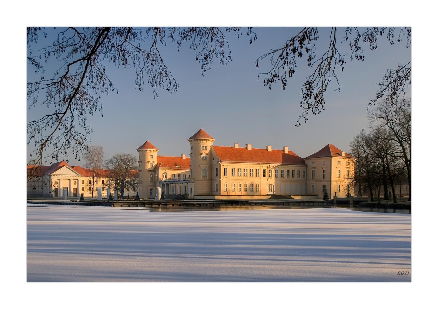 Schloss Rheinsberg im Winter