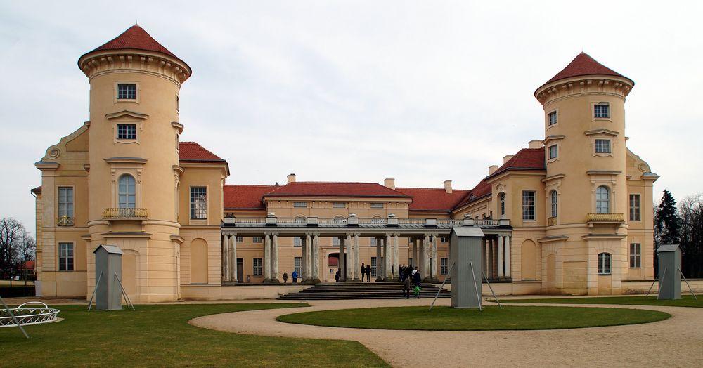 Schloss Rheinsberg – Seefront
