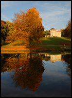 Schloss Richmond im Herbst