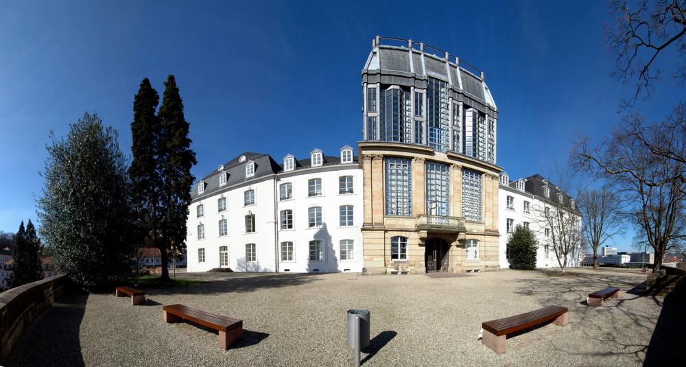 Schloss Saarbrücken / Rückseite
