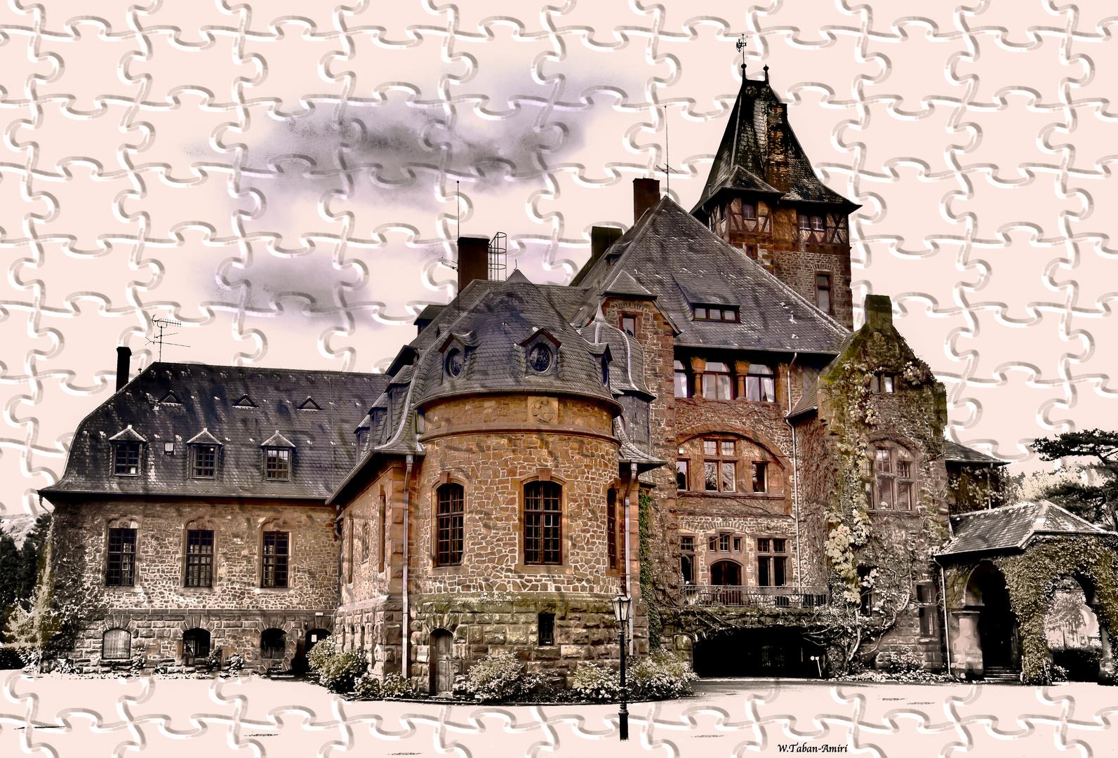 "Schloss Saareck in Mettlach  ""Landkreis Merzig-Wadern (Saarland) """