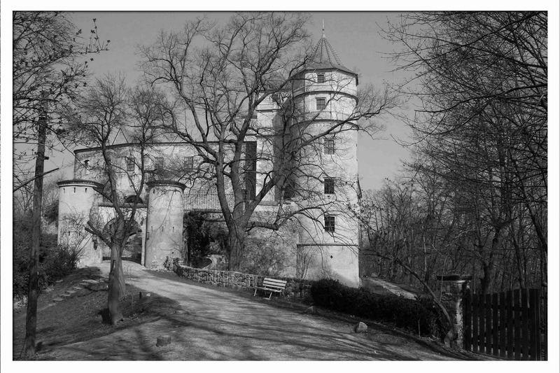 Schloss Scharfenberg - die Location zum Paar...