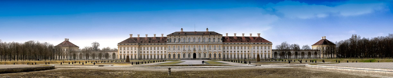 Schloss Schleissheim im Vorfrühling