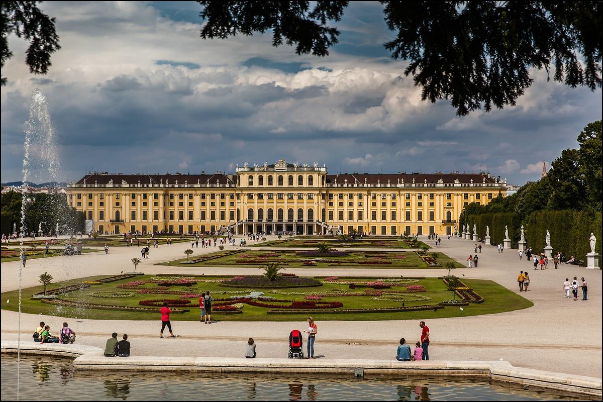 ...Schloss Schönbrunn...