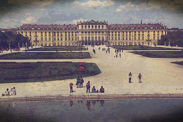 Schloss Schönbrunn anno dazumal