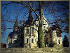 Schloss Schönfeld, hinterm Baum