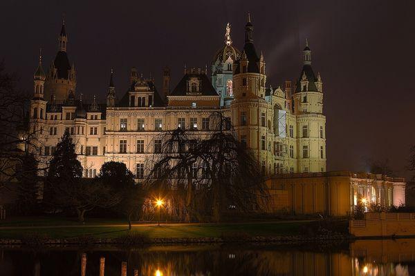 Schloss Schwerin einmal von der anderen Seite