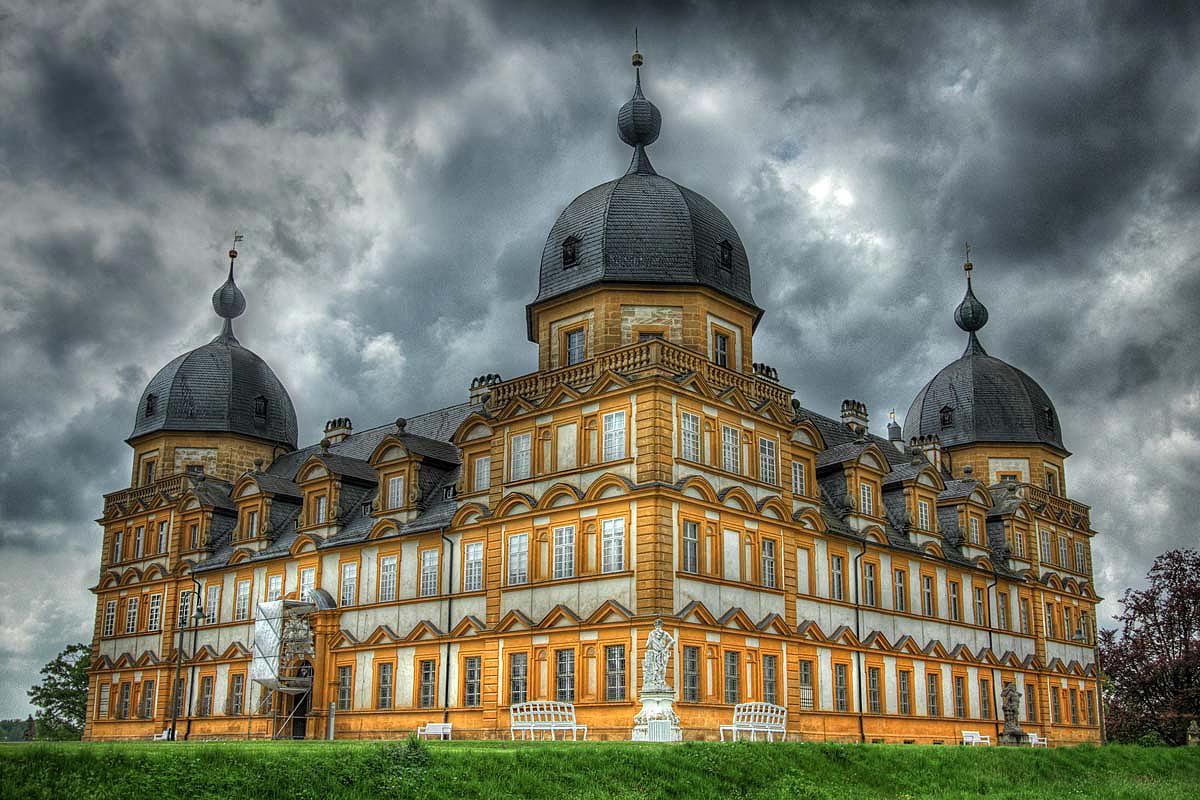 Schloß Seehof bei Bamberg