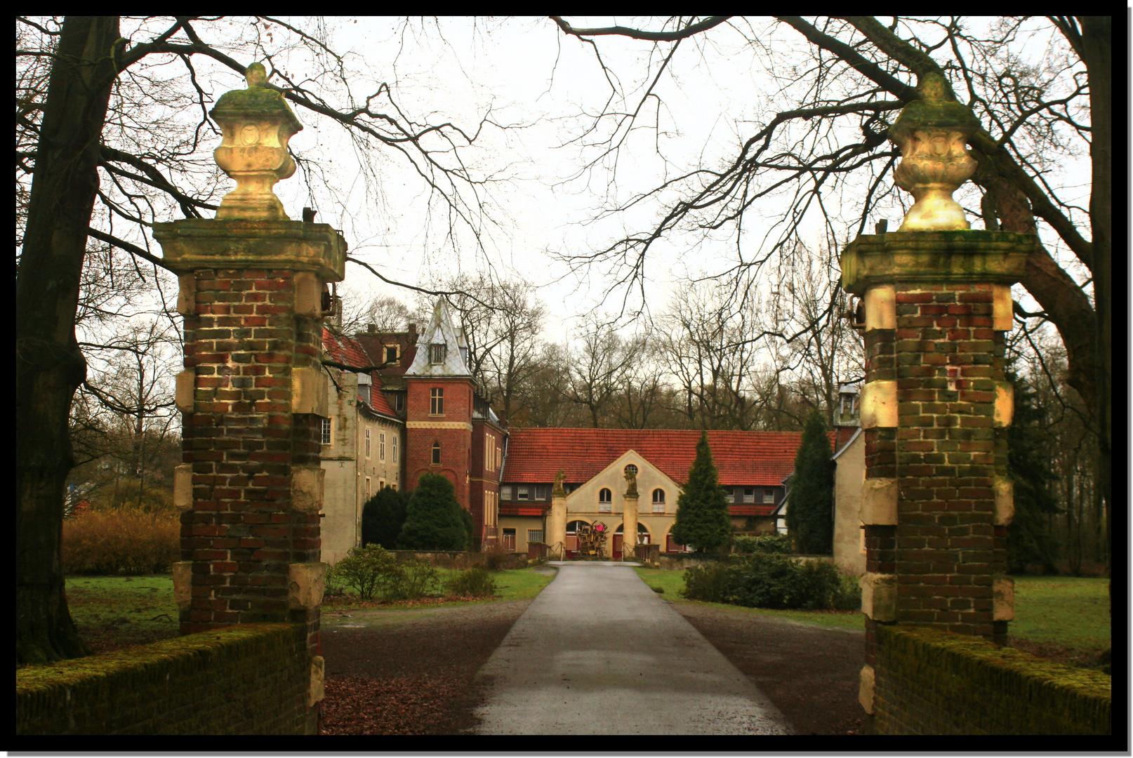 Schloss Senden Haupteingang