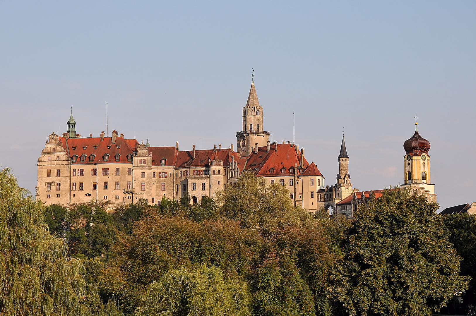 Schloss Sigmaringen Nordwestansicht