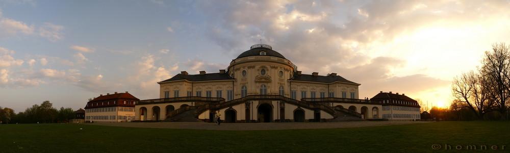 Schloss Solitude am Nachmittag