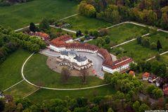 Schloss Solitude von oben