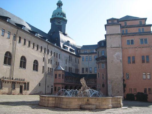 Schloss Sondershausen - Innenhof