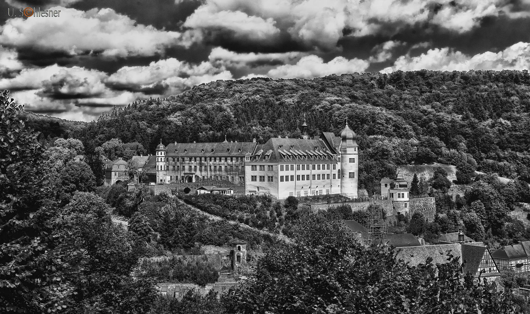 - Schloss Stolberg im Harz sw -