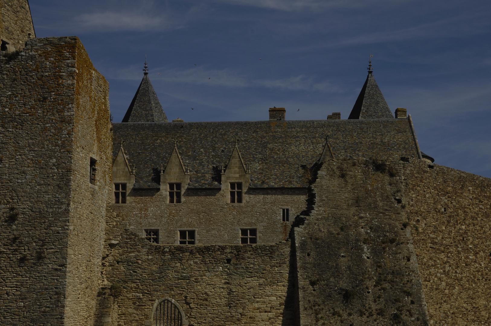 Schloss Suscinio, Mauern über Mauern