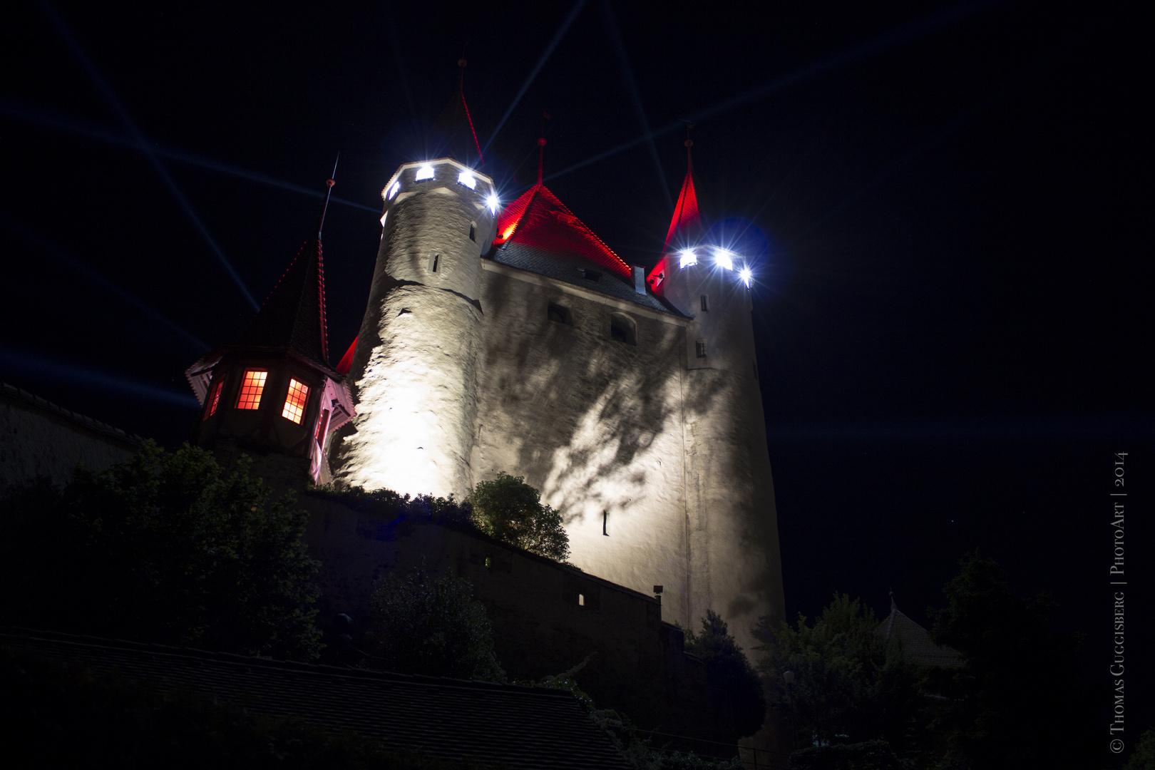 Schloss Thun @ Night 3