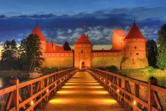 Schloss Trakai, Vilnius (Litauen)