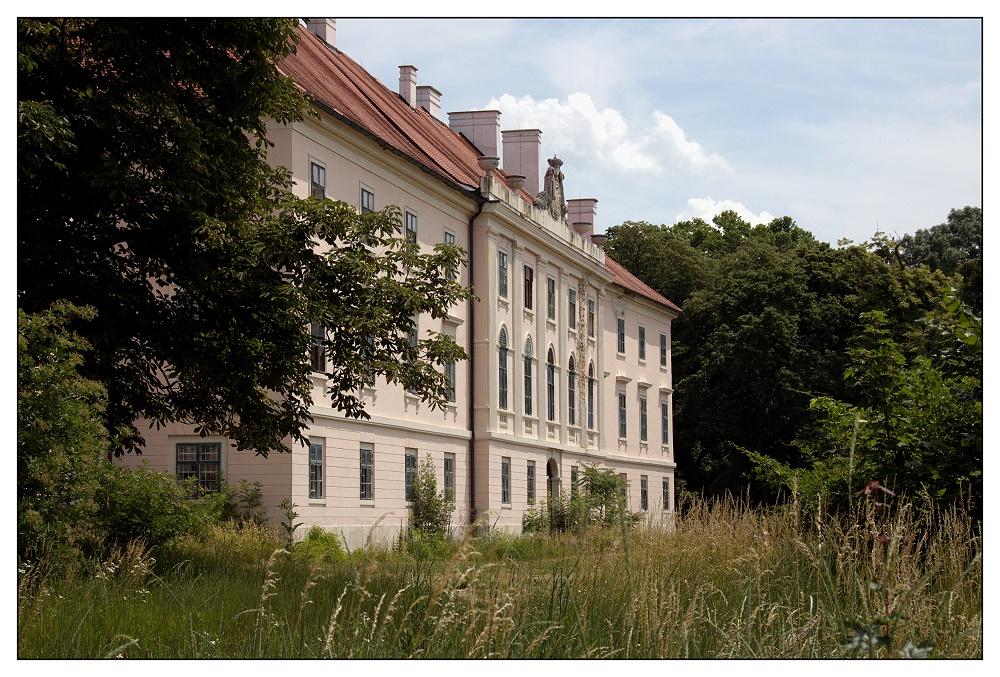 Schloss Trautmannsdorf Hinteransicht