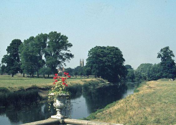 Schloß und Park in England