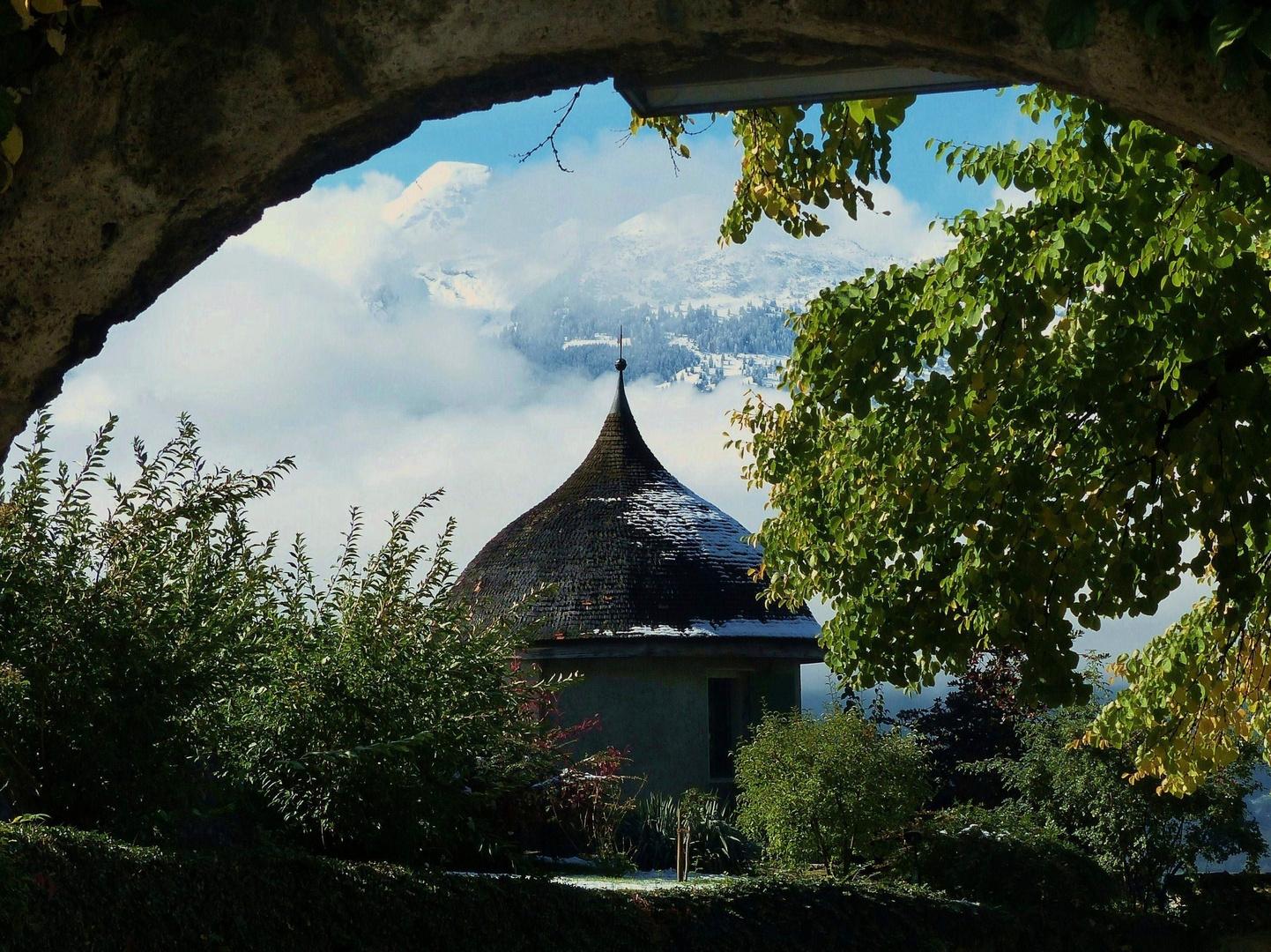 Schloss Vaduz - grandiose Aussicht