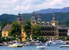 Schloss Velden - vom See aus gesehen