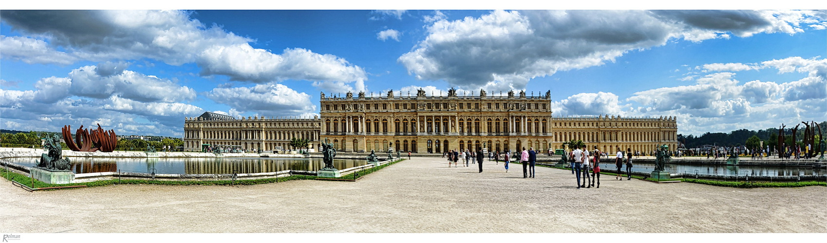 schloss versailles foto bild natur panorama natur kreativ aufnahmetechniken bilder auf. Black Bedroom Furniture Sets. Home Design Ideas