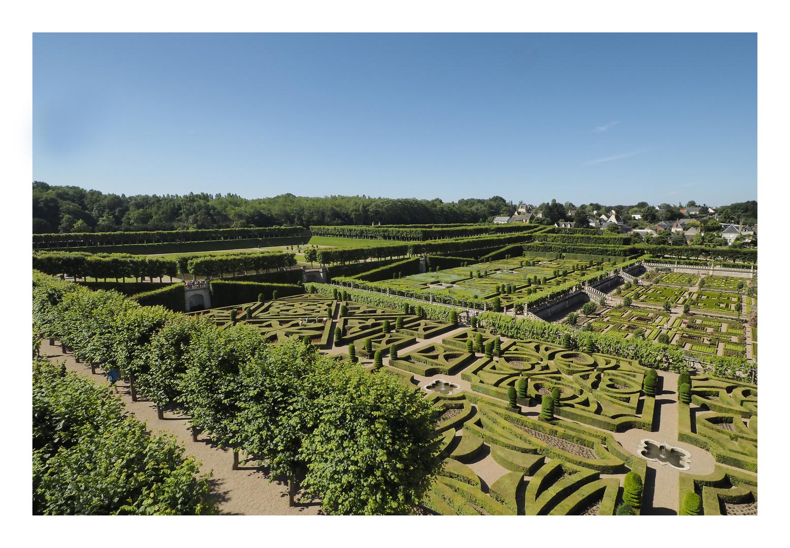 Schloss Villandry an der Loire