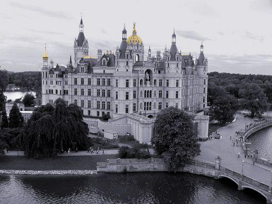 Schloss von oben